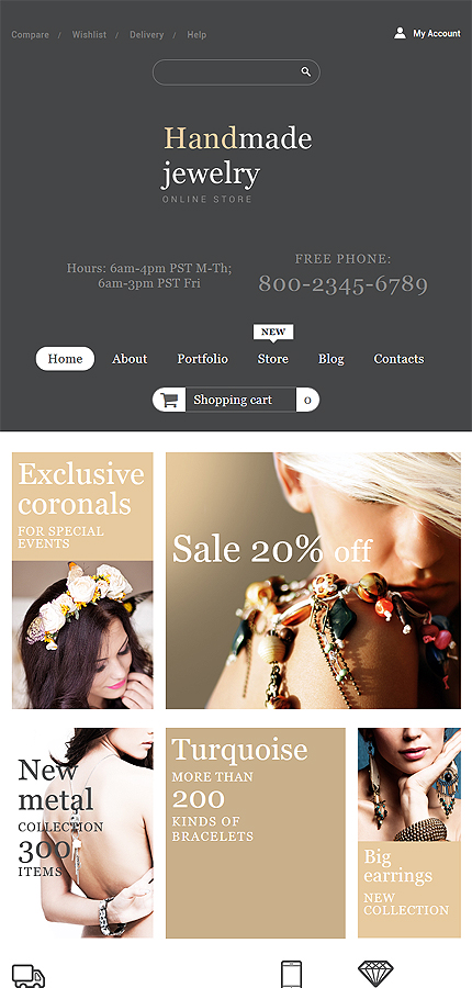 ADOBE Photoshop Template 53954 Home Page Screenshot