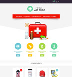 Medical osCommerce  Template 53959