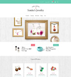 Jewelry osCommerce  Template 53960