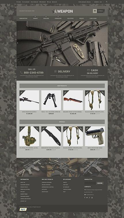 Magento Theme/Template 53961 Main Page Screenshot
