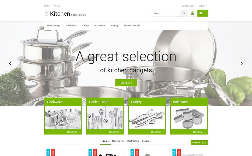 Tema PrestaShop  Flexível para Sites de Utilidades Domésticas №53963 New Screenshots BIG