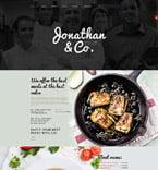 Cafe & Restaurant Joomla  Template 53964