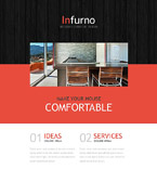 Furniture Newsletter  Template 53966