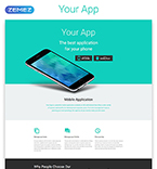 Software Landing Page  Template 53973