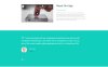 """Your App - Software Minimal HTML"" Responsive Landingspagina Template Groot  Screenshot"