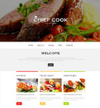 Food & Drink Website  Template 53977