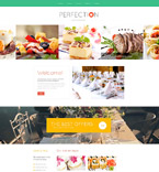 Food & Drink Website  Template 53979