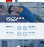 Sport Website  Template 53986