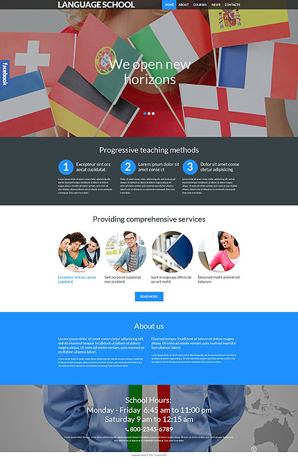 Website Template #53988