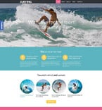 Sport WordPress Template 53989