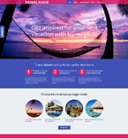Travel WordPress Template 53990
