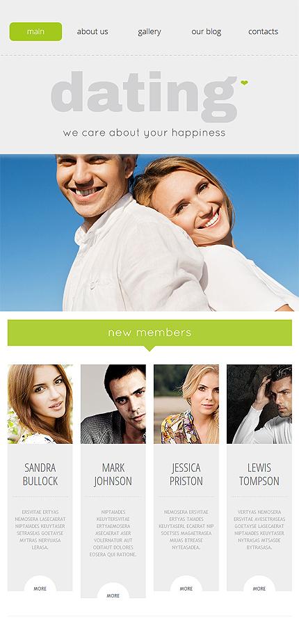 WordPress Theme/Template 53992 Main Page Screenshot