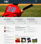 Sport WordPress Template 53996
