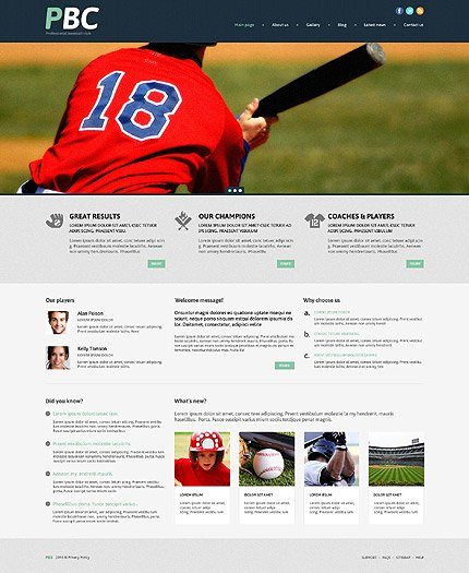 WordPress Theme/Template 53996 Main Page Screenshot