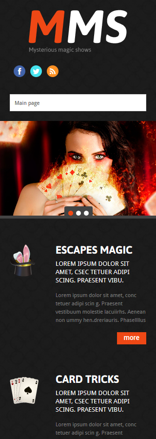 WordPress Theme/Template 53997 Main Page Screenshot