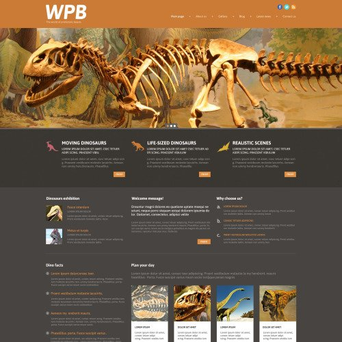 Wpb - WordPress Template based on Bootstrap