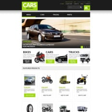 cars virtuemart templates