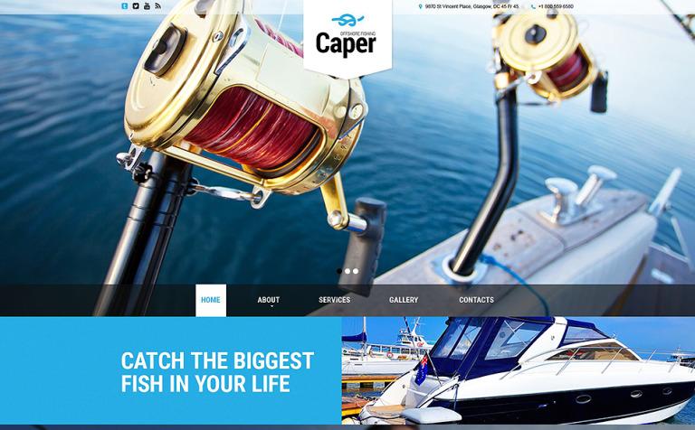 Caper Website Template