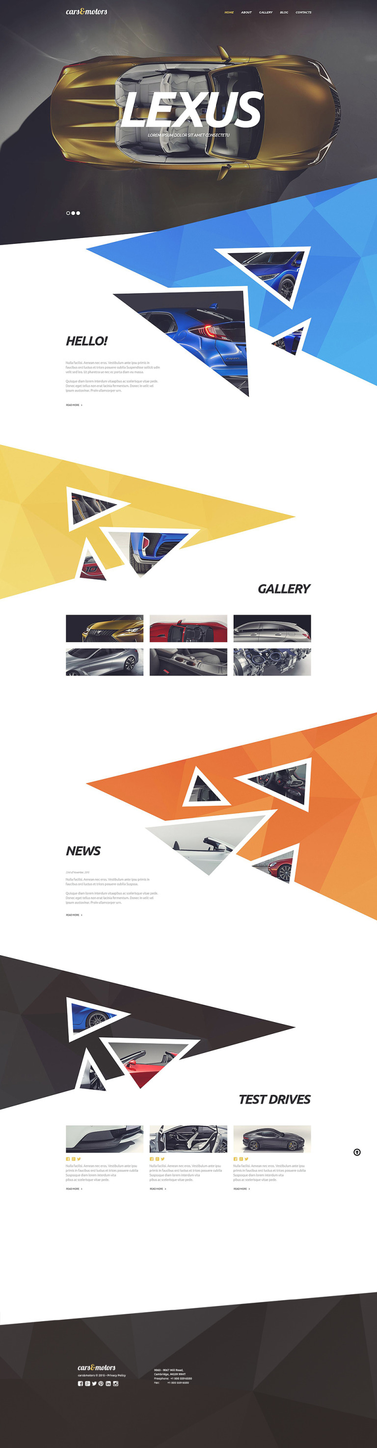 Car Distribution WordPress Theme New Screenshots BIG