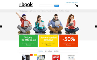 eBook PrestaShop Theme