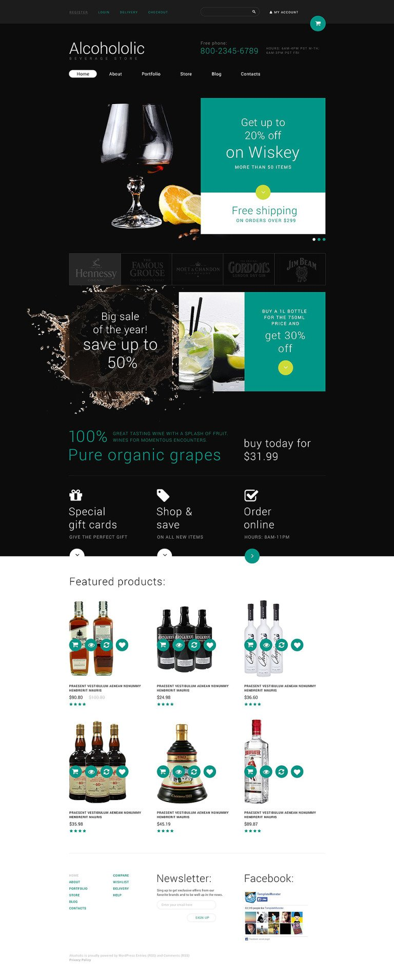 Food and Drink Store WooCommerce Theme New Screenshots BIG