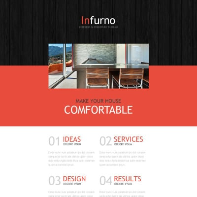 Interior Furniture Newsletter Templates