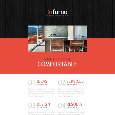 Interior Furniture Newsletter Templates