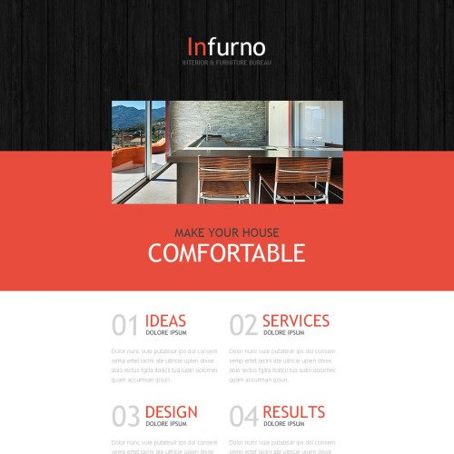 Infurno - Responsive Furniture Newsletter Template