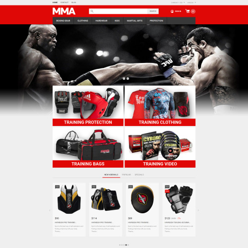 MMA - PrestaShop Template based on Bootstrap