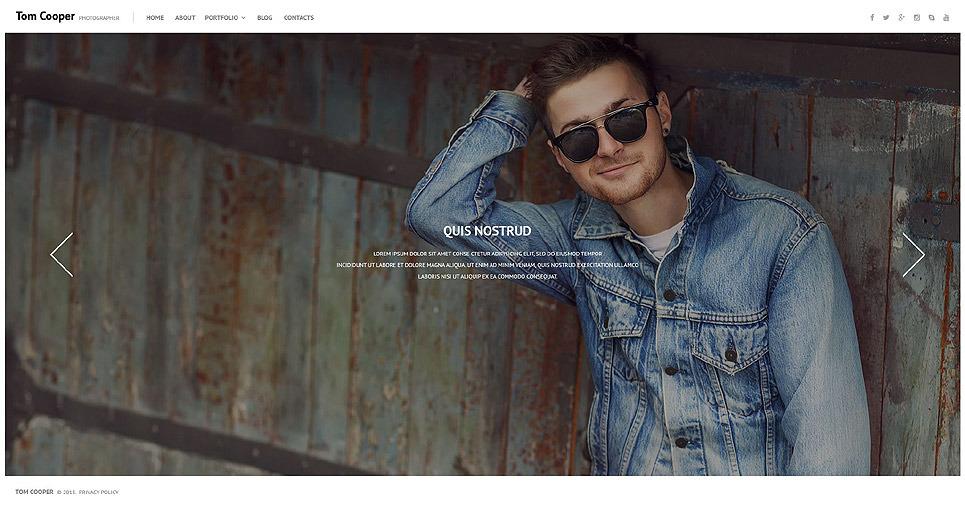 Online Portfolio WordPress Theme New Screenshots BIG