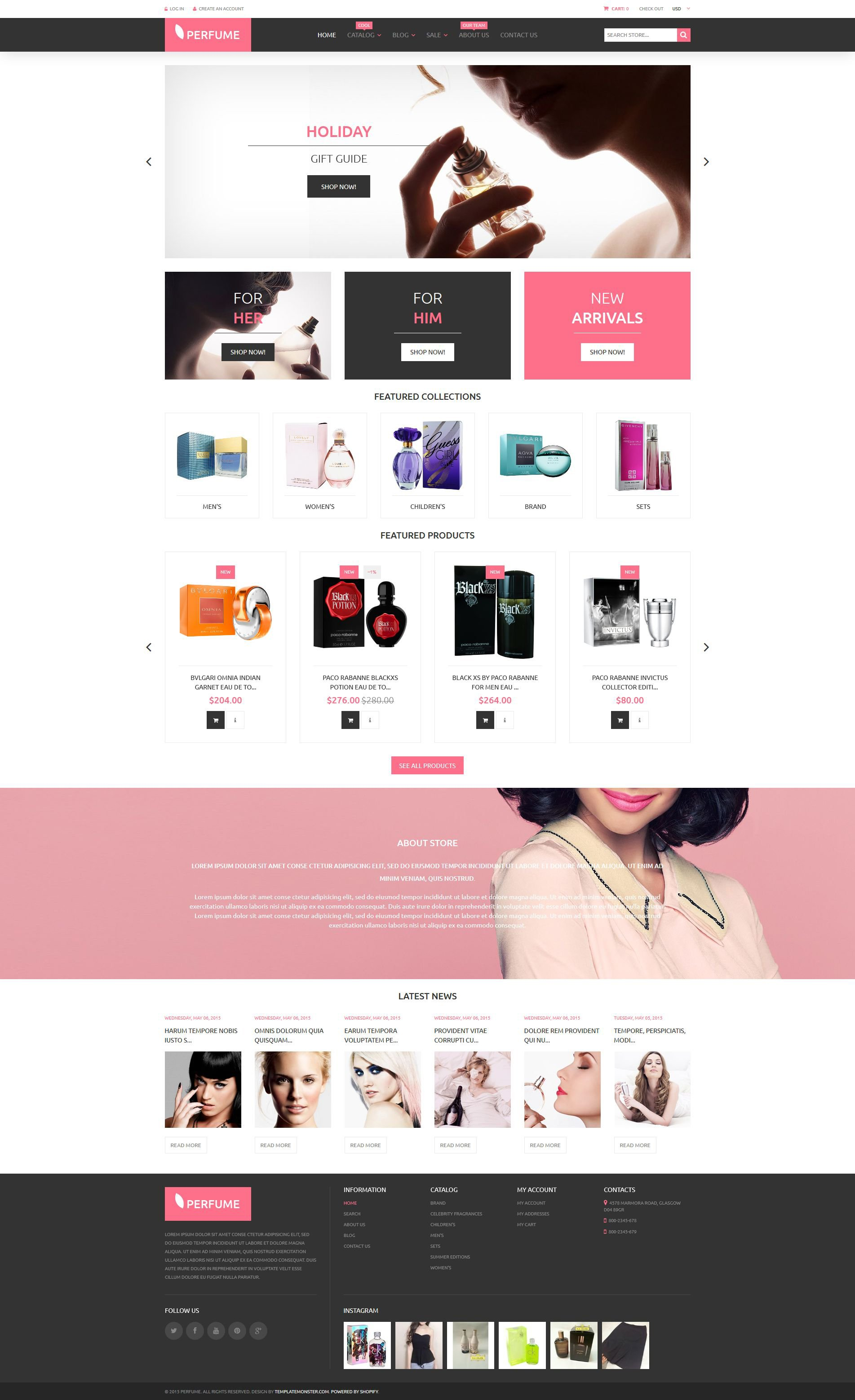 Beauty Shopify Theme - Shopify website templates