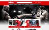 """PrestaShop Theme namens """"Shop für MMA Ausrüstung """" New Screenshots BIG"""