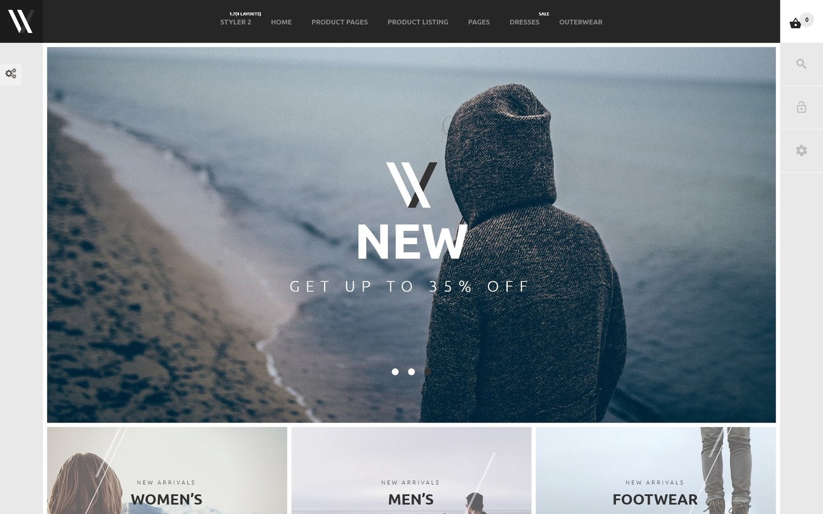 "PrestaShop Theme namens ""Styler"" #53967"