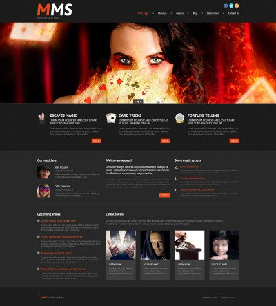 Responsywny motyw WordPress #53997 na temat: kasyno online