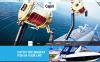 Reszponzív Halászati  Weboldal sablon New Screenshots BIG