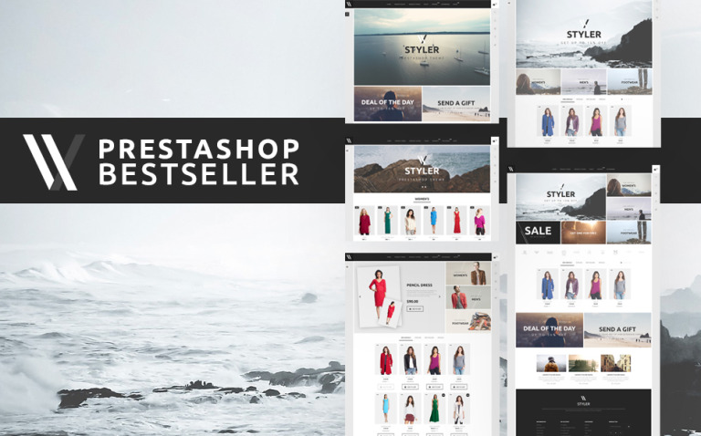 Styler PrestaShop Theme Big Screenshot