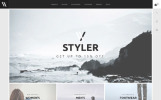 Styler - шаблон PrestaShop сайта модного стилиста