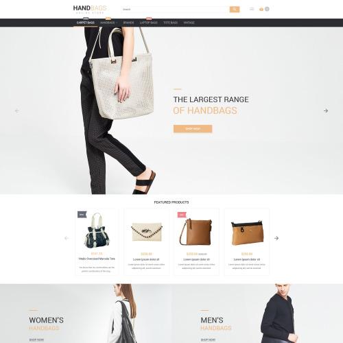 Handbags - Magento Template based on Bootstrap