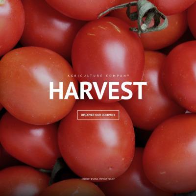 Responsive Tema De WordPress #53933 para Sitio de  para Sitio de Agricultura