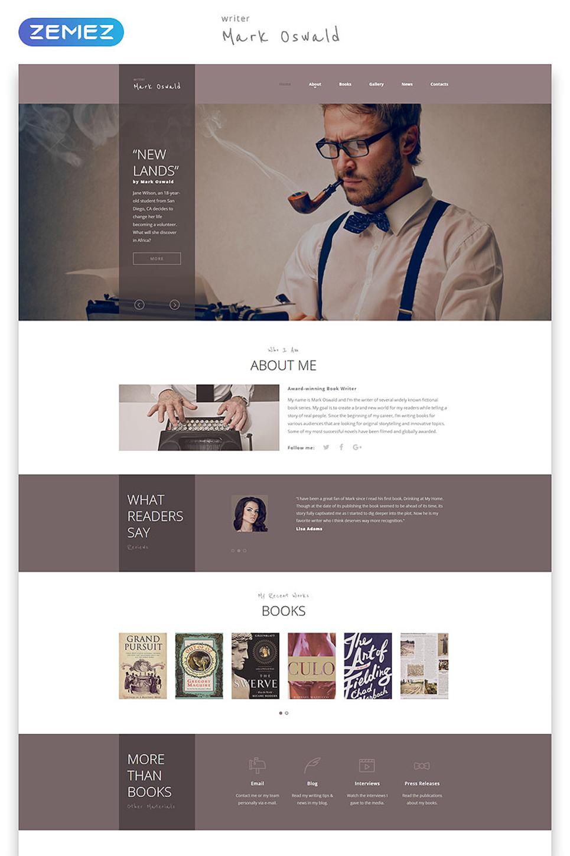 author website templates