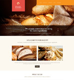 Food & Drink WordPress Template 54000