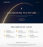 Science WordPress Template 54002