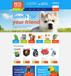 Animals & Pets Shopify Template 54004