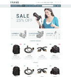 Electronics Shopify Template 54005