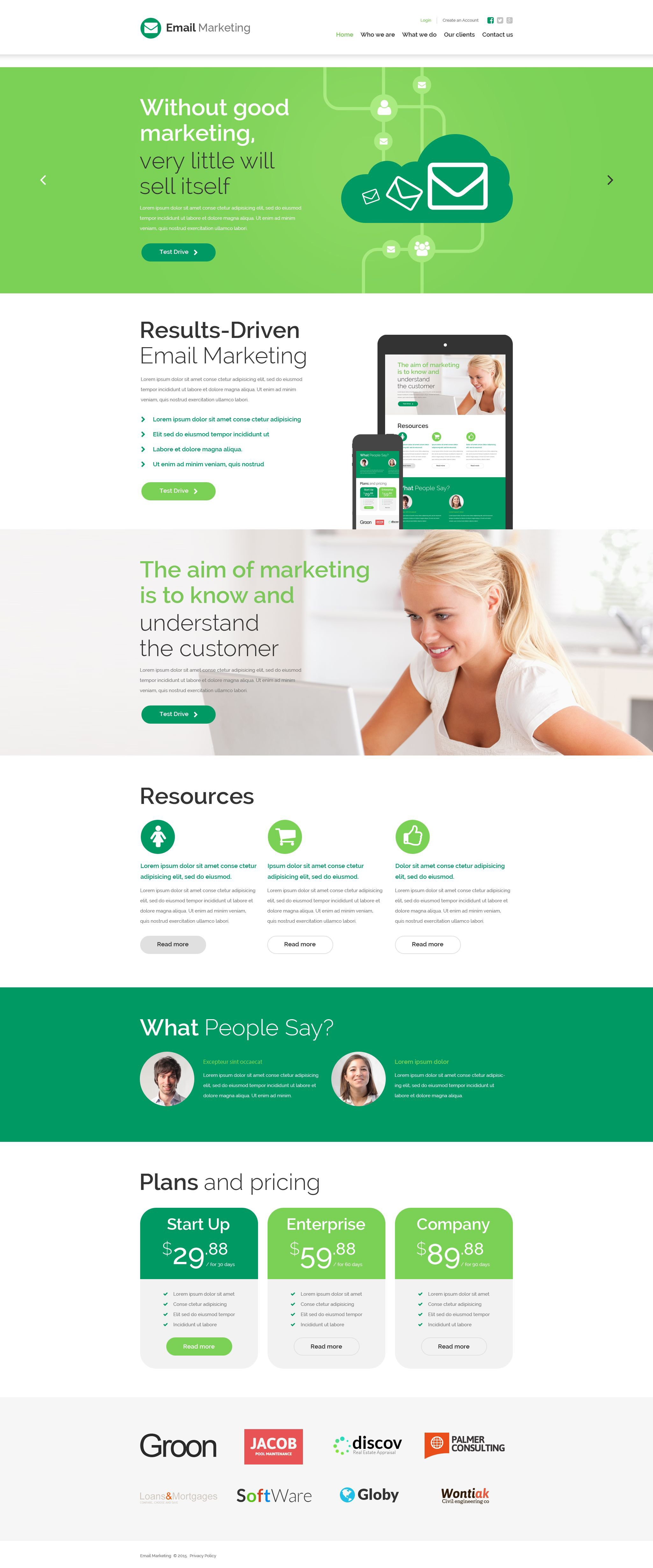 The E-mail Marketing Bootstrap Design 54007, one of the best website templates of its kind (business, most popular), also known as e-mail marketing website template, business website template, success company website template, enterprise solution website template, business website template, industry website template, technical website template, clients website template, customer support website template, automate website template, flow website template, services website template, plug-in website template, flex website template, profile website template, principles website template, web products website template, technology system and related with e-mail marketing, business, success company, enterprise solution, business, industry, technical, clients, customer support, automate, flow, services, plug-in, flex, profile, principles, web products, technology system, etc.
