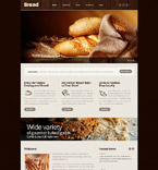 Food & Drink Website  Template 54011