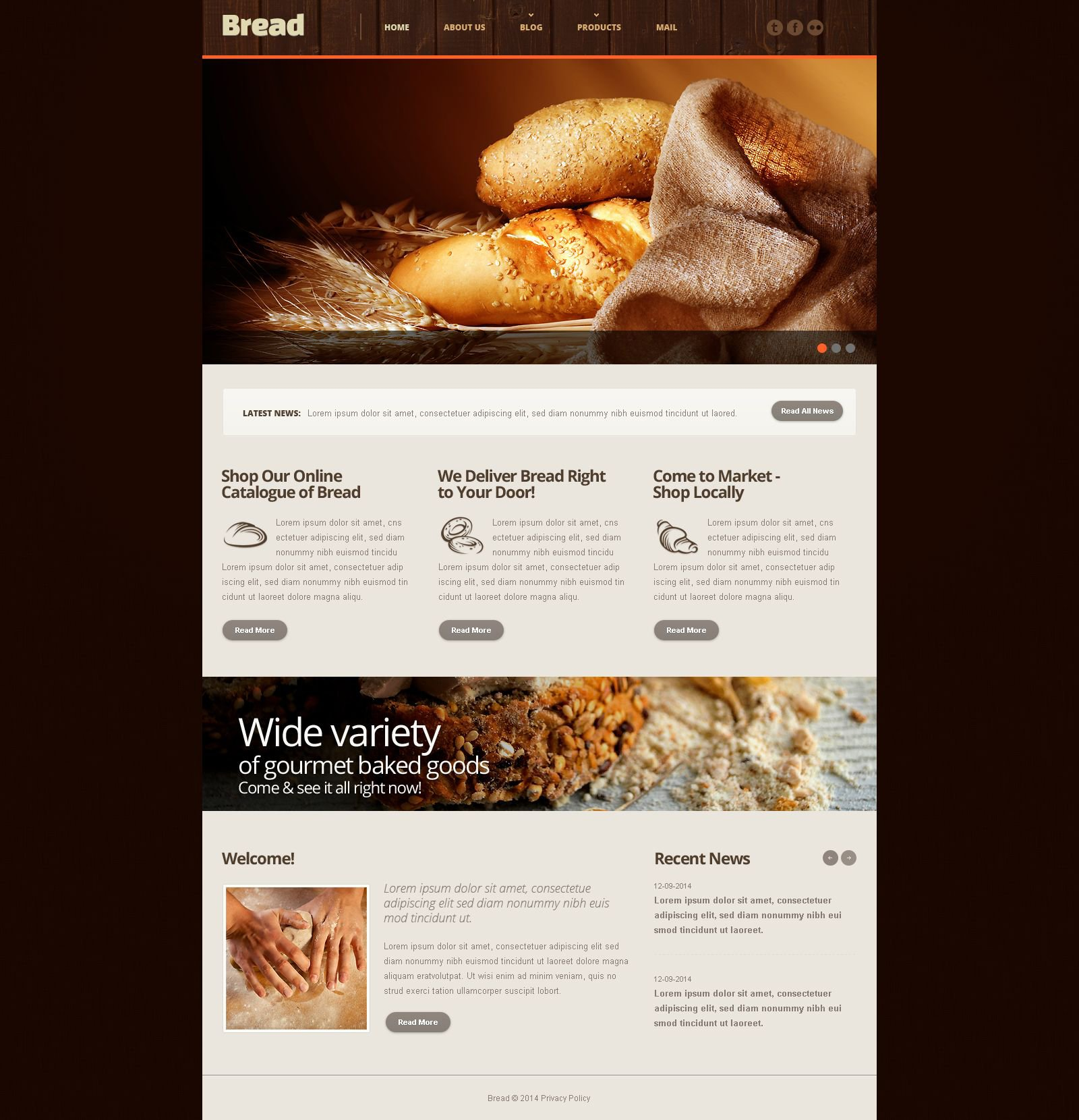 The Bread Bakery Responsive Javascript Animated Design 54011, one of the best website templates of its kind (food & drink, most popular), also known as bread bakery website template, products website template, chocolate website template, cake website template, biscuit website template, filling website template, tasty website template, delicious website template, wedding website template, celebration website template, birthday website template, fruits website template, sweets website template, cookies website template, specials website template, receipts website template, pastry website template, fancy website template, tarts website template, custard website template, cream website template, cookery website template, experts website template, masters website template, services website template, order website template, quotes website template, delivery website template, staff and related with bread bakery, products, chocolate, cake, biscuit, filling, tasty, delicious, wedding, celebration, birthday, fruits, sweets, cookies, specials, receipts, pastry, fancy, tarts, custard, cream, cookery, experts, masters, services, order, quotes, delivery, staff, etc.