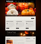 Halloween Website  Template 54013