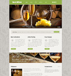 Food & Drink Website  Template 54014