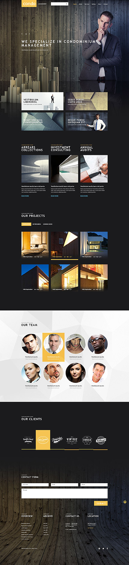 Website Template #54015